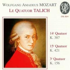 Mozart - Quatuors Nos. 3, 14, 15