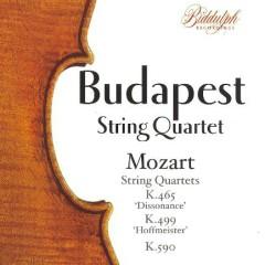 Mozart - String Quartets Nos. K. 465 , K. 499 & K. 590