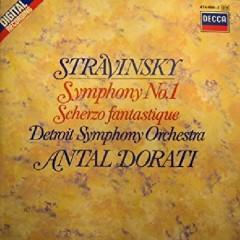 Stravinsky - Symphony 1 And Scherzo Fantastique - Antal Doráti, Detroit Symphony Orchestra