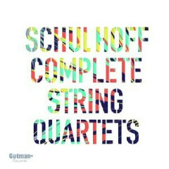 Schulhoff Complete String Quartets CD 1 - Alma Quartet