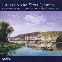 Brahms - The Piano Quartets CD 1 - Marc-André Hamelin, Leopold String Trio