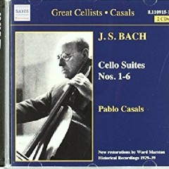 Bach - Cello Suites Nos. 1 - 6 CD 1 (No. 1) - Pablo Casals