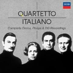 Quartetto Italiano - Complete Decca, Philips & DG Recordings CD 10 - Quartetto Italiano