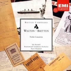Britten & Walton - Violin Concertos - Ida Haendel, Bournemouth Symphony Orchestra, Paavo Berglund