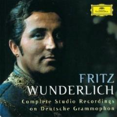 Fritz Wunderlich - Complete Studio Recordings On Deutsche Grammophon CD 14