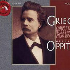 Grieg: Complete Solo Piano Music Vol.7 No.1 - Gerhard Oppitz
