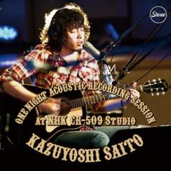 ONE NIGHT ACOUSTIC RECORDING SESSION at NHK CR-509 Studio - Kazuyoshi Saito