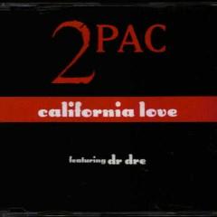 California Love (EU CD Maxi-Single)  - 2Pac