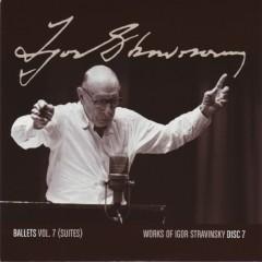 Works Of Igor Stravinsky Disc 7 (No. 3)