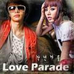 love Parade (2010) - Hyunah (4minute) & Park Yoon Hwa (t-max)