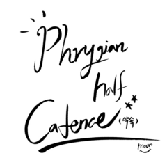 Phrygian Half Cadence - As Moon