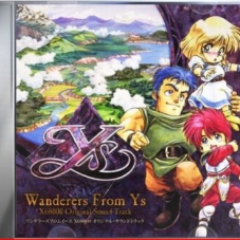 Wanderers From Ys X68000 Original Sound Track CD1