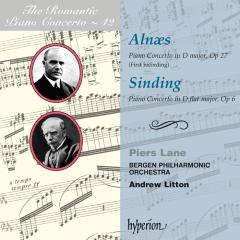 The Romantic Piano Concerto, Vol. 42 – Aln(ae)s & Sinding