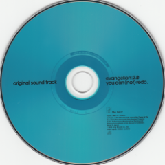 evangelion:3.0 you can (not) redo. original soundtrack CD2