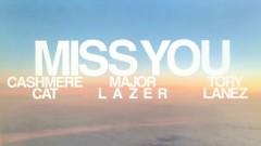 Miss You (Lyric Video) - Cashmere Cat, Major Lazer, Tory Lanez
