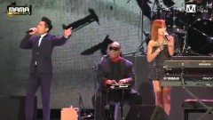 I Just Called To Say I Love You (MAMA 2013) - Stevie Wonder , Quách Phú Thành ,Hyorin