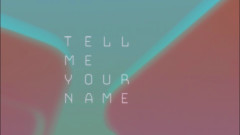 Tell Me Your Name (Lyrics MV) - Ronny Chu