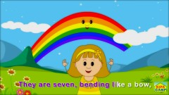What's in the Sky- The Sky Song for Children - KidsCamp