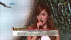 One Year Later (111225 SNSD's Christmas Fairy Tale) - Jessica,Onew