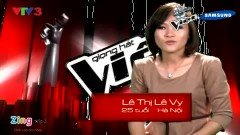 Dấu Phố Em Qua (Giọng Hát Việt) - Lê Vy