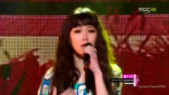 Don't Ask (120811 Music Core) - Maeng Yuna
