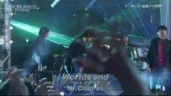 Worlds End & 365 Day (Music Station) - Mr.Children