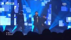 Let's Talk About Love (!30915 Inkigayo) - Seung Ri, G-Dragon, TAEYANG
