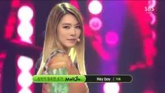 Hey Boy (131124 Inkigayo) - Kahi