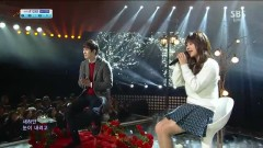 Love Falls (131215 Inkigayo) - JUNIEL, Lee Jong Hyun