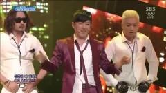 Taxi (140223 Inkigayo) - Lee Min Woo