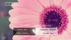 Last Calendar (Vietsub) - T-ARA