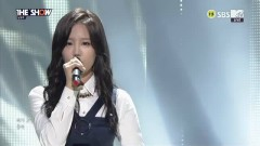 Tenderhearted (141104 The Show) - Nam Young Joo