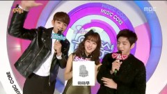 MC Cut (141206 Music Core) - Minho , Kim So Hyun