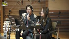 Lucky (141218 MBC Radio) - Puer Kim , Cho Hyung Woo