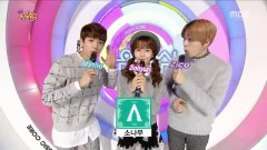 MC Cut (150110 Music Core) - Minho , Zico , Kim So Hyun