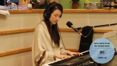 Sorry Seems To Be The Hardest Word (150325 KBS Radio) - Kang Yu Hyun
