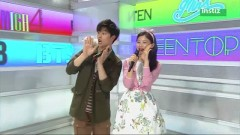 Please (150705 Inkigayo) - Sung Eun
