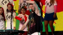 Different Colors (Live On Jimmy Kimmel Live) - Walk The Moon