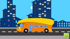The Wheels on the Bus Go Round and Round (Nursery Rhyme)