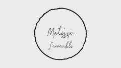 Invencible (Lyric Video) - Matisse