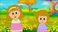 Yellow Song - Nursery Rhymes - Learn Colors with Elly & Eva - KidsCamp