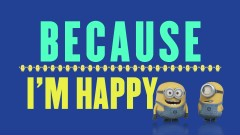 Happy (Despicable Me 2 OST) (Lyric Video)