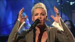 What About Us (Live On SNL) - Pink