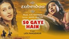 So Gaye Hain (Pseudo Video) - A.R. Rahman, Lata Mangeshkar