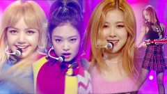 Playing With Fire (161113 Inkigayo) - Black Pink