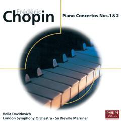 Chopin: Piano Concertos Nos.1 & 2 - Bella Davidovich,London Symphony Orchestra,Sir Neville Marriner