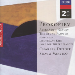 Prokofiev: Alexander Nevsky; The Stone Flower; Lieutenant Kijé etc. - Sir Neville Marriner,Charles Dutoit,L'Orchestre de la Suisse Romande,Silvio Varviso