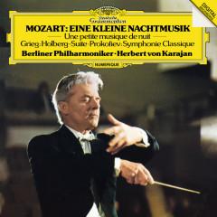 Mozart: Eine kleine Nachtmusik / Grieg: Holberg Suite / Prokofiev: Symphonie Classique - Berliner Philharmoniker,Herbert von Karajan
