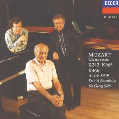 Mozart: Piano Concerto No.20; Concerto for 2 Pianos; Concerto for 3 Pianos - Daniel Barenboim,András Schiff,English Chamber Orchestra,Sir Georg Solti