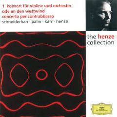 Henze: Violin Concerto No.1; Ode to West Wind; Double Bass Concerto - Wolfgang Schneiderhan,Siegfried Palm,Gary Karr,Hans Werner Henze